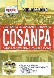 Apostila COSANPA NÍVEL MÉDIO.