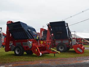 Agrishow 2012 apresenta equipamentos para produção agrícola em Ribeirão Preto, SP  (Foto: Leandro Mata/G1)