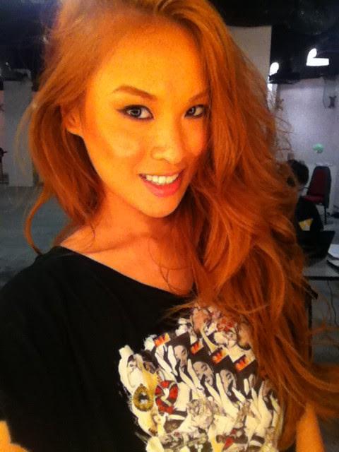 beauty shot Nicole Tan