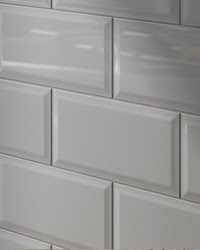 Linear Metro White Ceramic Subway Tile