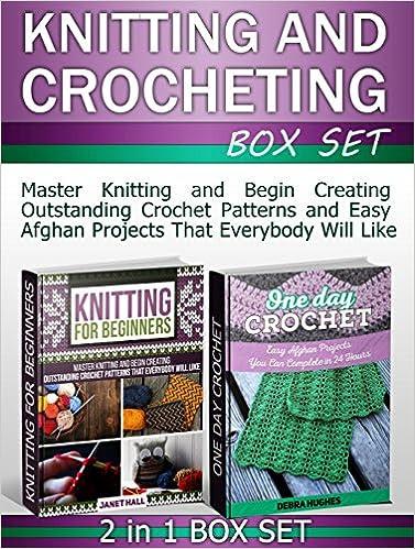 Knitting and Crocheting Box Set