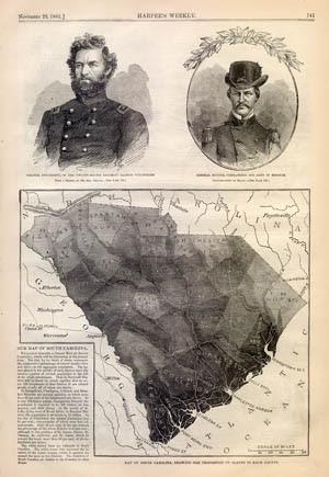 South Carolina Slave Map