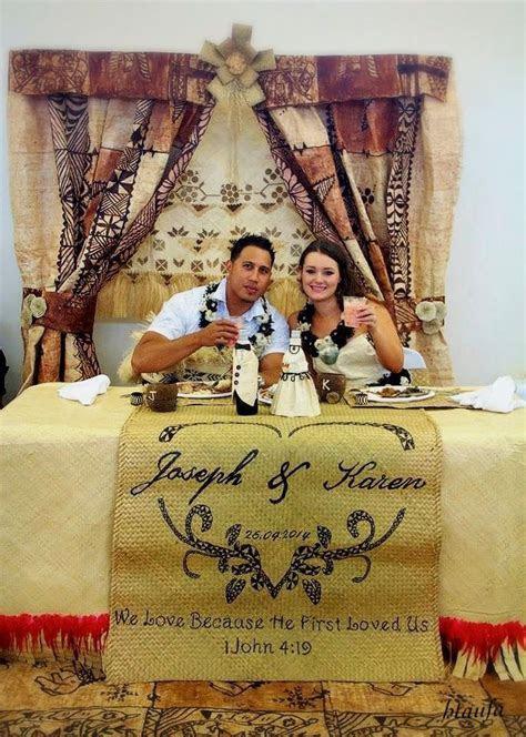 Tongan wedding designed by H.Taufa   J & K Kolokihakaufisi