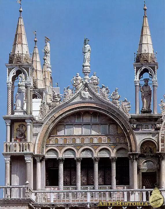 Basílica de San Marcos (Venecia). Fachada sur