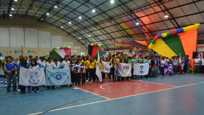 Jogos Escolares do RN - Jerns 2015 (Foto: Jocaff Souza/GloboEsporte.com)