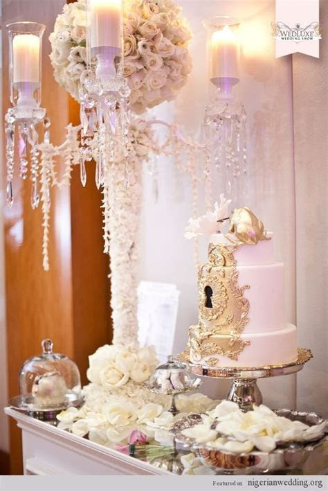 Wedding Cake Table Decorations   Nigerian Wedding Cakes: 4