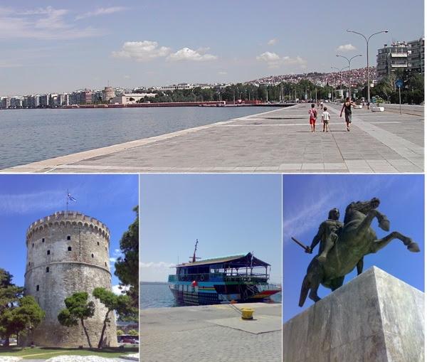 Thessaloniki, the promenade