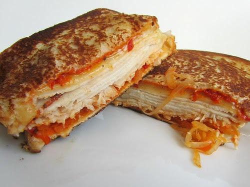 Grilled Rachel(ish) Cheese