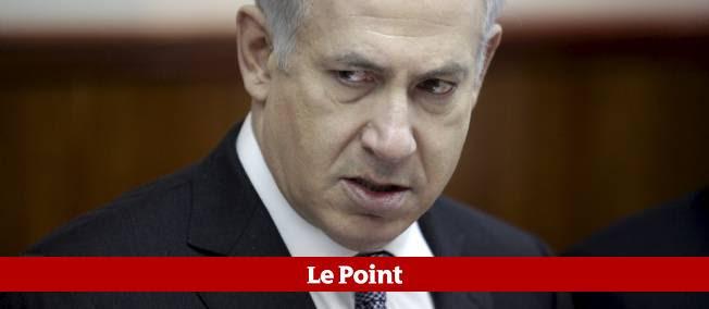 """Le Premier ministre israélien a fustigé le """"discours de propagande mensongère"""" du président palestinien Mahmoud Abbas à l'ONU, lui reprochant de """"ne pas s'exprimer comme un homme épris de paix""""."""