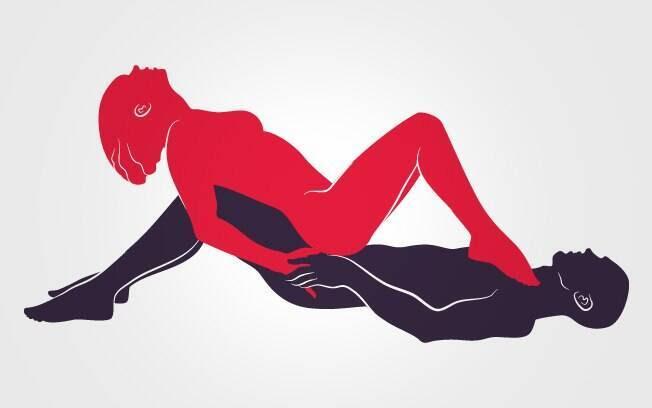 16. AOS PÉS DA RAINHA: A mulher dita o ritmo da transa apoiando os pés no peito do parceiro . Foto: Renato Munhoz (Arte iG)