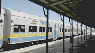 Los trenes de Bolivia son concesionados