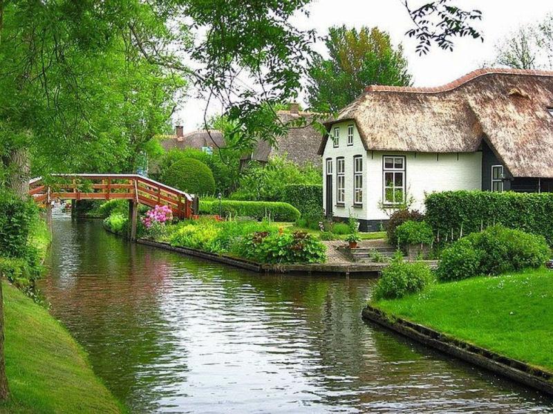 Giethoorn, a Veneza rural da Holanda 26