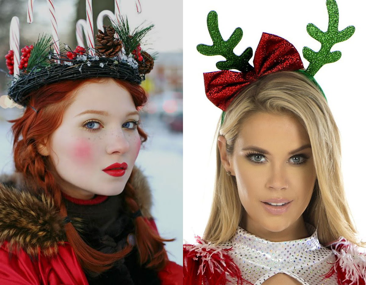 Christmas Hairstyles Amp Hair Accessories To Meet 2017 Long Hairstyles