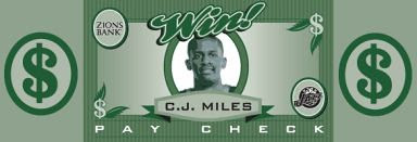 Miles paycheck