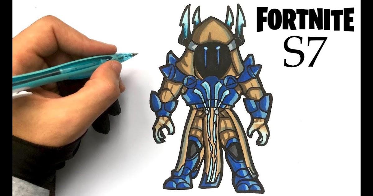 Coloriage Figurine Pop Fortnite.Fortnite Roi Des Glaces Coloriage Fortnite Aimbot Line
