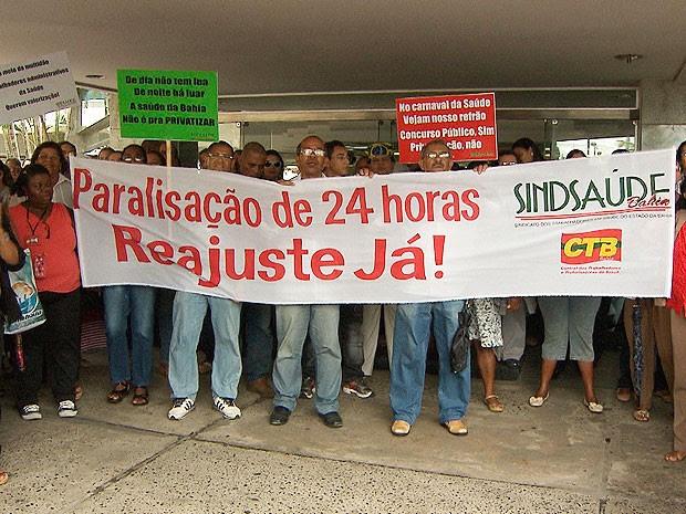 servidores (Foto: Reprodução/TV Bahia)