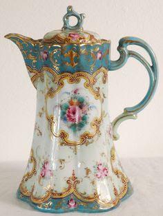 1900's Antique Chocolate Pot