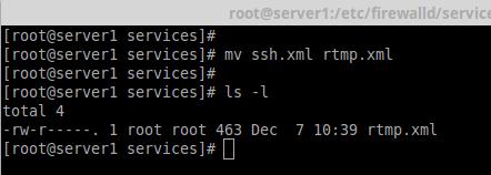 Add Service to Firewalld