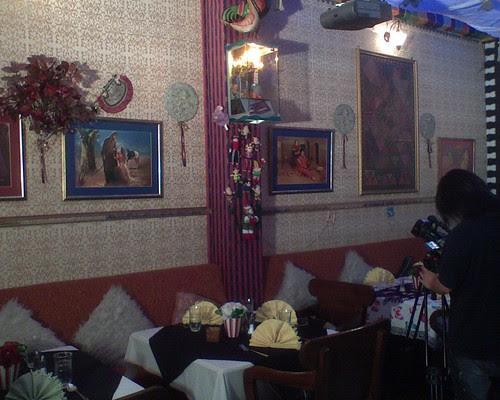 Bollywood Restaurant Interior 2