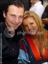 Sergei Fedorov and Tara Reid
