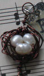 wire bird nest charm 8