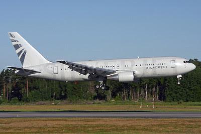 Silverjet Aviation (Flyjet) (Jordan Aviation) Boeing 767-204 ER JY-JAI (G-SILC) (msn 24736) ARN (Ola Carlsson). Image: 913815.