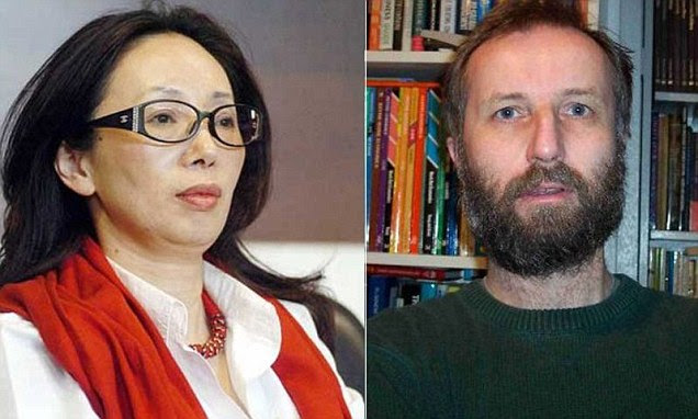 Tony Hawken, 57 (right), is divorcing Xiu Li, 51 (left), after 21 years because he says he doesn't like being rich