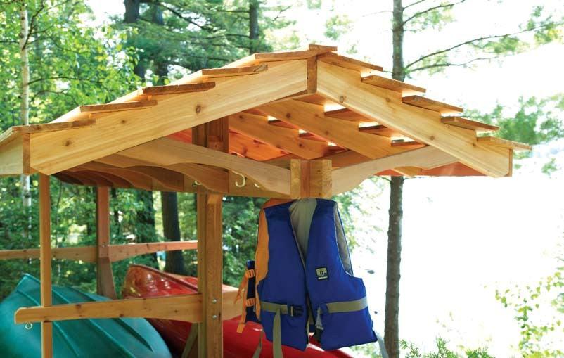 Canoe Yact: Best Build kayak storage rack wood