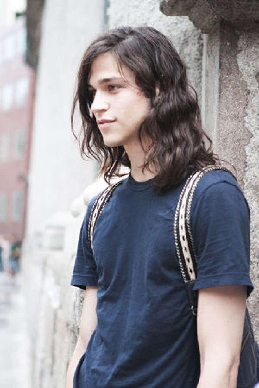 最も人気のある髪型 トップ100メンズ ロン 毛 結ぶ