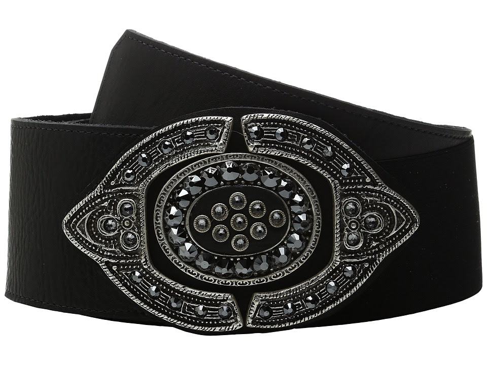 Leatherock - 1711 (Vintage Black) Women's Belts