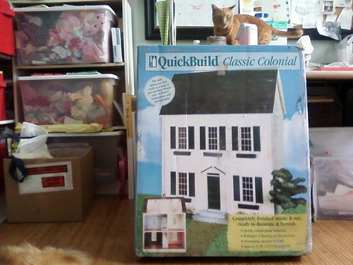 My dollhouse arrived today!