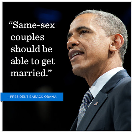 Barack Obama Quote About Same Sex Marriage Love Gay Cq