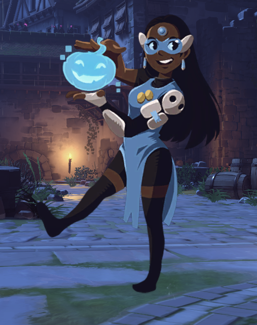 OKAY BUT IS THIS NOT JUST CONNIE COSPLAYING SYMMETRA?