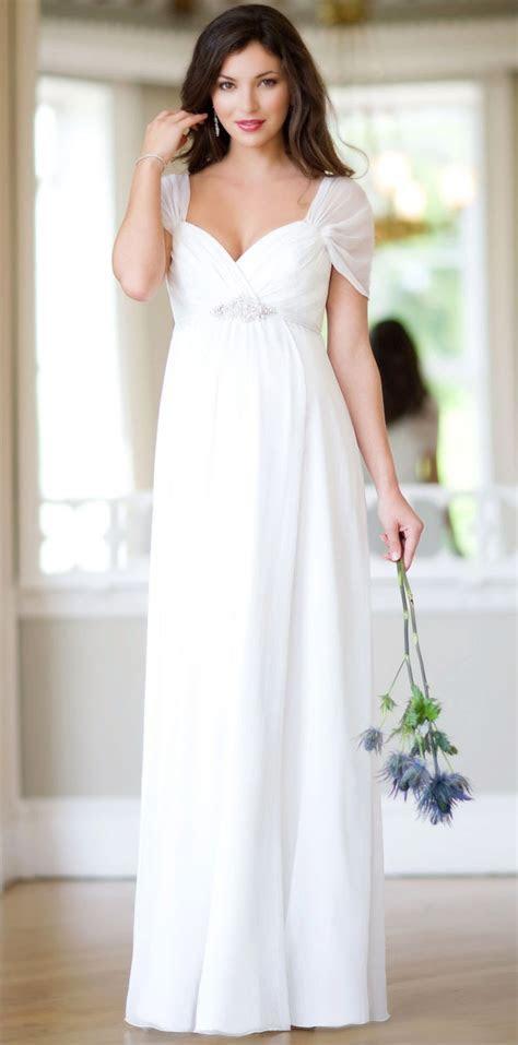 Cheap White Maternity Wedding Dresses Sleeves Under 100