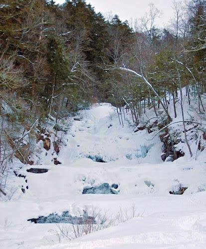 Frozen Kent Falls