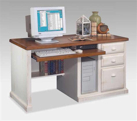 kathy ireland southampton white desktop computer desk