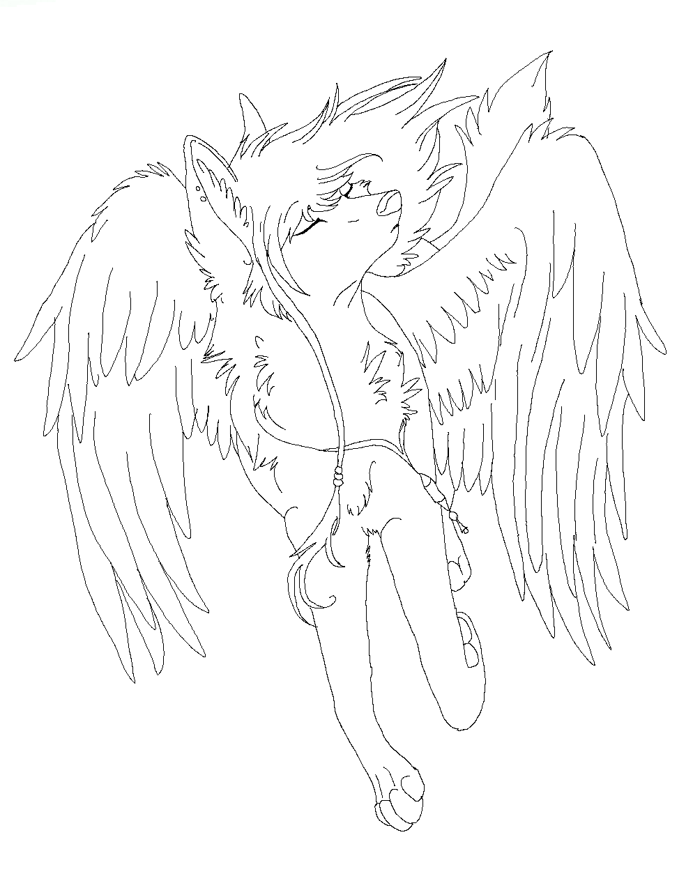 angel wolfy by raven-morticia on DeviantArt