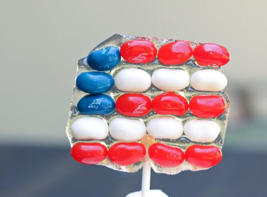 Post image for Patriotic Lollipops