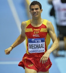 Resultado de imagen de fotos adel mechaal.atleta