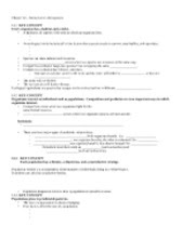 AP Biology Ecology Unit Worksheet 1 Answer Sheet - Nisha ...