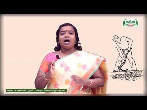 4th Science  அலகு 3 பகுதி 1 வேலை மற்றும் ஆற்றல் Kalvi TV
