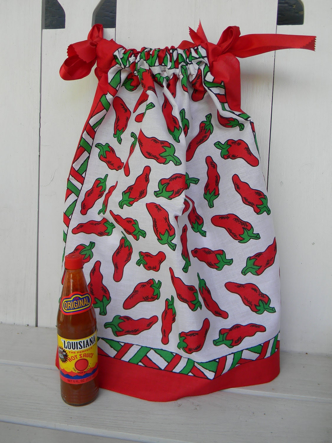 Handkerchief Dress Red Hot Chili Peppers SALE