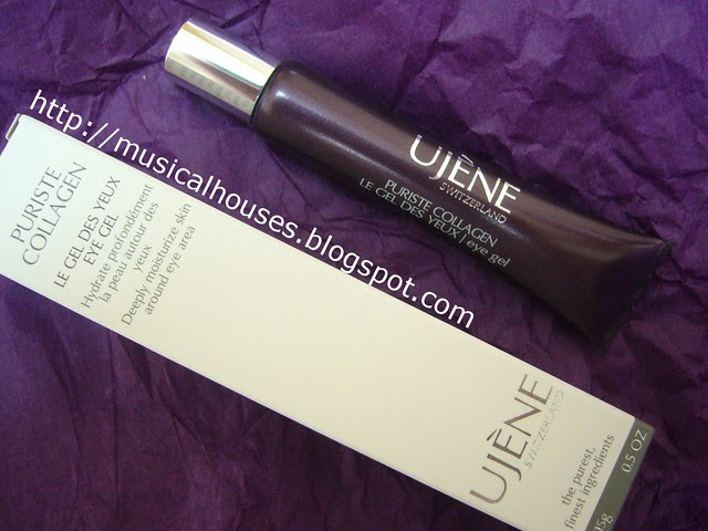 ujene puriste collagen eye gel