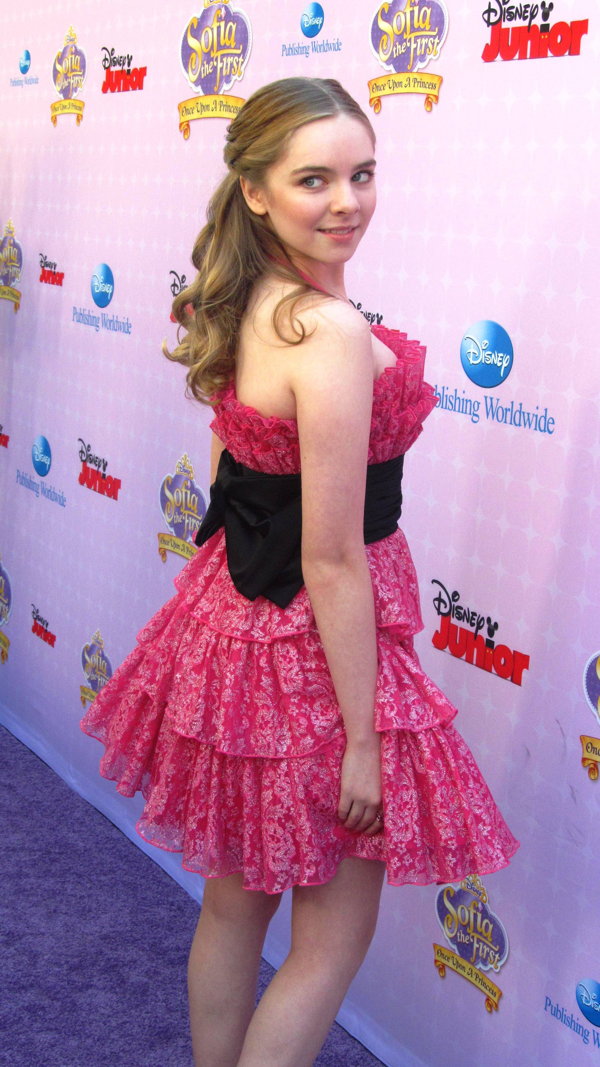 DARCY ROSE BYRNES ARRIVES AT DISNEY'S SOFIA THE FIRST ...
