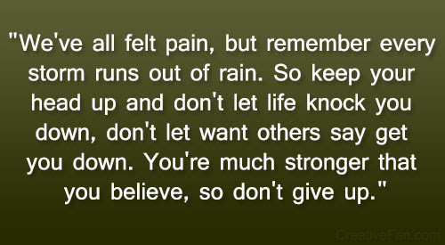 Quotes About Keeping Head Up 22 Quotes