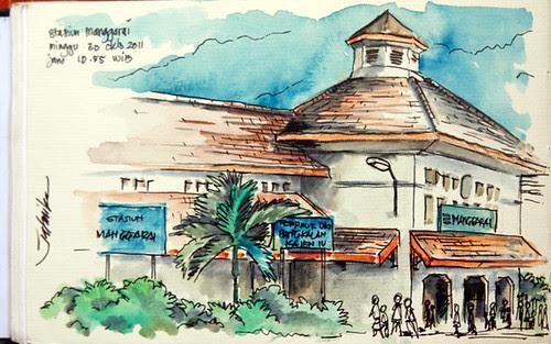 Stasiun Manggarai by mas_jati