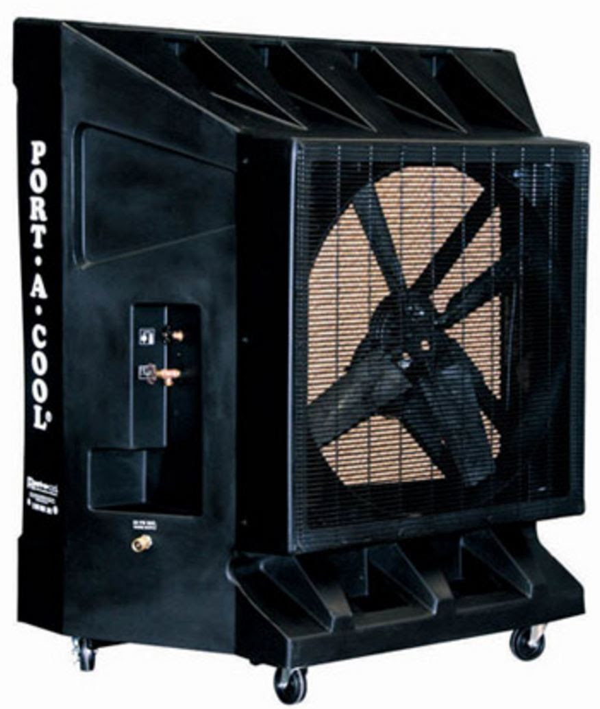 36 HP Variable Speed Outdoor Air Cooler - Patio cooler