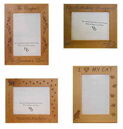 Custom Engraved Wood Frames The Wood Cottage Online Store
