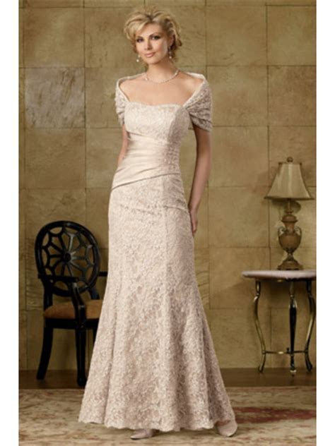 Elegant Mermaid Lace Mother of The Bride Evening Dresses