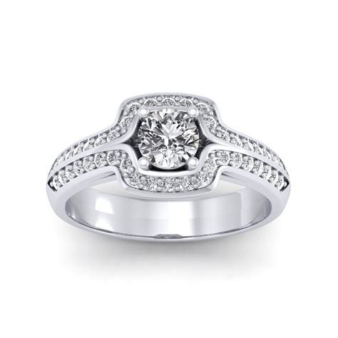 0.60 carat Platinum   Amanda Engagement Ring   Engagement